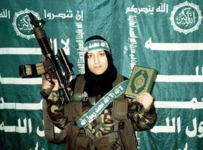 Weiblicher Dschihadist