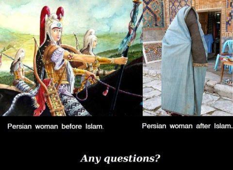 Änderungen durch islamische Kleidervorschriften für Frauen