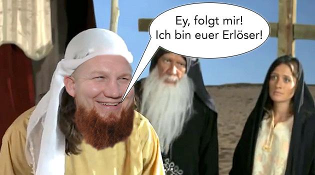 Pierre Vogel ist Mohammed