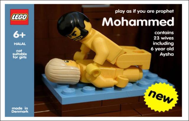 Mohammed und Aischa Lego-Bausatz