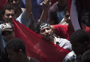 Anti-Mursi Demonstranten
