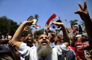 Pro-Mursi Demonstranten