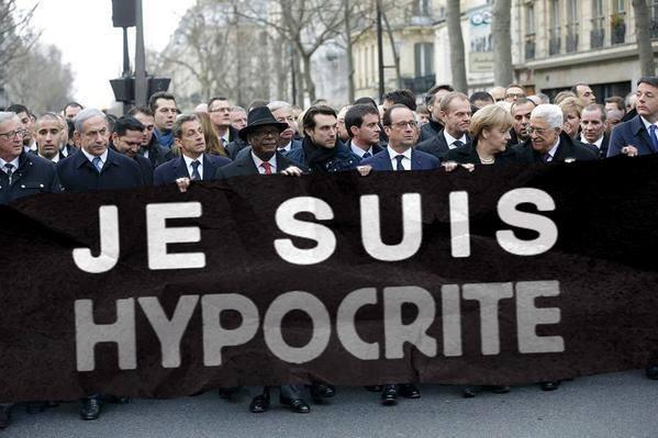 Politiker_Heuchler_Paris_Marsch