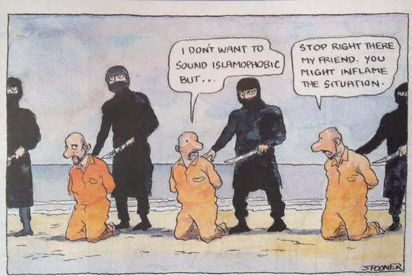 Beware of Islamophobia