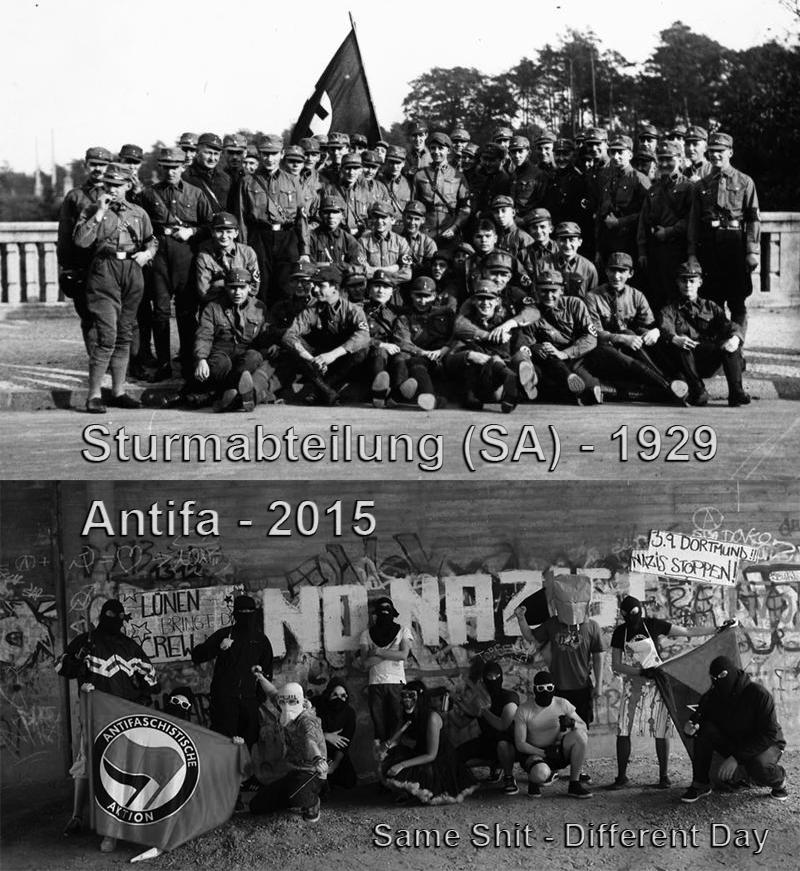 Antifa sind die neuen Faschisten